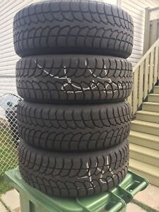 p205/55/16 inch Winter Tires on Kia Forte Rims / GREAT DEAL