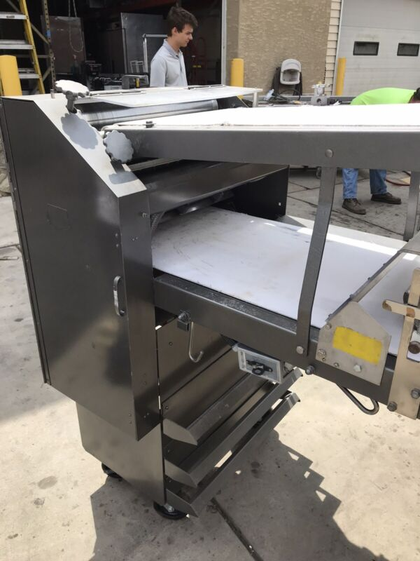 Moline 330 Donut Sheeter  With Cutter And 1 Year Used Motor