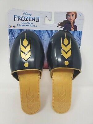 Disney Frozen II 2 Movie ANNA SHOES Halloween Costume Accessory Dress Up Heels