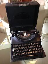 """1932 Imperial Typewriter """"Good Companion"""" with case Pagewood Botany Bay Area Preview"""