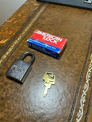 American Lock A5200 Steel Padlock - Government Padlock 1-18 Opening Brand New