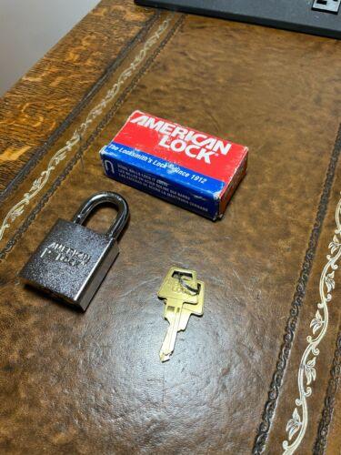 "American Lock A5200 Steel Padlock - Government Padlock 1-1/8"" Opening BRAND NEW"