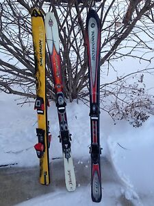 Skis and boots 140 sm