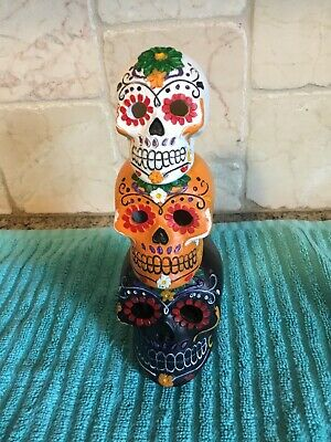 Day Of The Dead Light Up Skulls