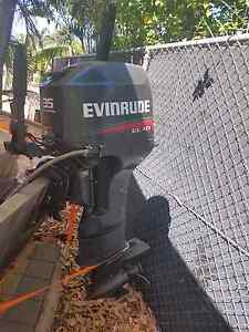 35hp evinrude elan Bakewell Palmerston Area Preview