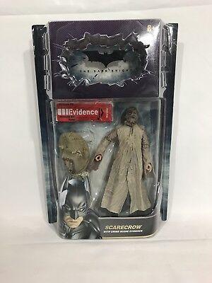 BATMAN DARK KNIGHT SCARECROW MOVIE MASTERS Mattel Mask Evidence ()