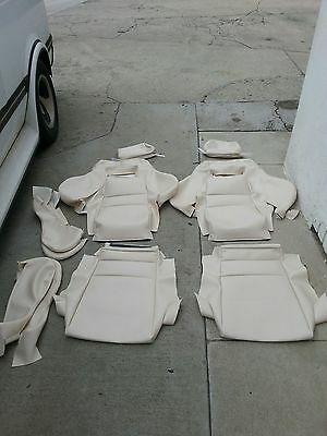 RECARO SEATS KIT (2) UPHOLSTERY KIT VW GTI GLI BEAUTIFUL KIT GERMAN VINYL NEW for sale  Shipping to South Africa