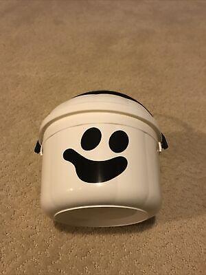Vintage 1986 McDonalds Ghost Pumpkin Halloween Candy Trick or Treat Bucket