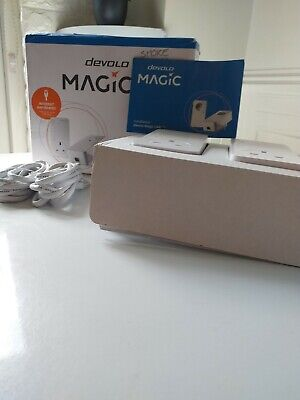 Devolo Magic 2 Powerline Adapter 2400Mbps Add-on Stable Home Working LAN Network