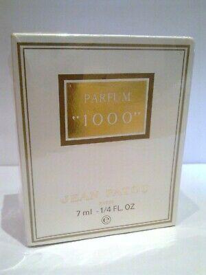 VINTAGE JEAN PATOU 1000 PARFUM SPLASH 7ML - NEW & SEALED