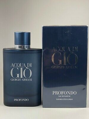 ACQUA DI GIO PROFONDO by Giorgio Armani 4.2 oz 125 ml EDP Spray NEW SEALED 2020