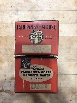 Original Fairbanks-morse Magneto Cap Covers Gx2430 Nib Qty 2