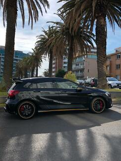 Mercedes A45 AMG Yellow Night Edition Melbourne CBD Melbourne City Preview