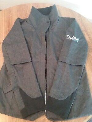 Zappos Women's Light Jacket Brooks Long Sleeve Black Gray Size M Cute