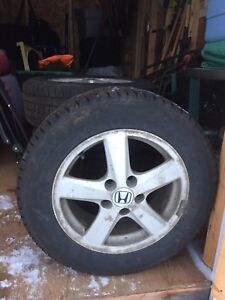 Winter tires on Honda rims