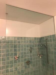 Clear shower screen/panel Bardon Brisbane North West Preview