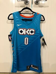 buy online a8516 30be9 Russell Westbrook City Edition Swingman (Oklahoma City ...