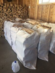 Large Bags of Clean, Dry & Split Camping Firewood - South Edm