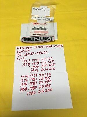 73-76 Suzuki TM RM TM100 TM125 RM100A RM125M Magneto Cover Decal