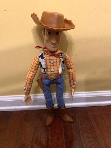 Disney Toy Story Talking Woody Thinkway Doll w/Hat