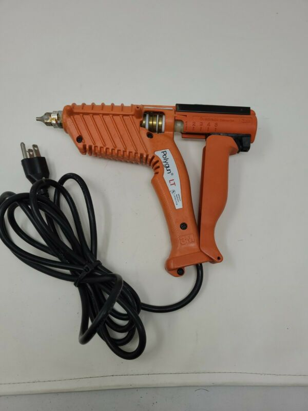 3M POLYGUN LT W/ Quadrack Converter Low Temp 2.6-3.5 lb/hr Industrial Glue Gun