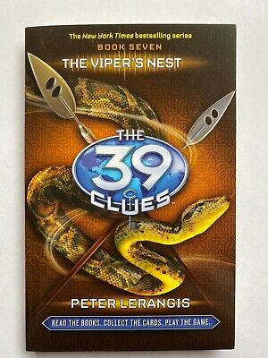 The 39 Clues Book 7: The Viper's Nest PAPERBACK BOOK FREE SHIPPING