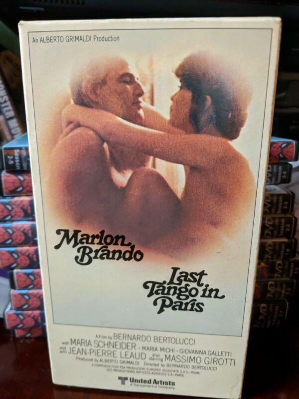 "LAST TANGO IN PARIS/ORIGINAL 1981 MAGNETIC VIDEO/UA RELEASE/UNCUT RATED ""X"" VHS!"