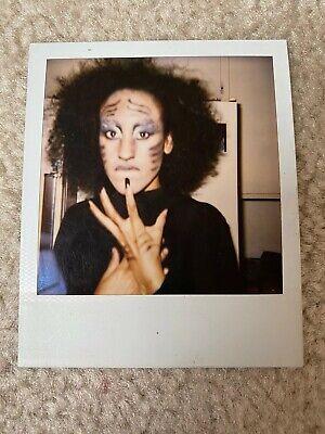 Halloween Makeup Collection (Cats Makeup Halloween Musical African American 1980s Vintage Polaroid)