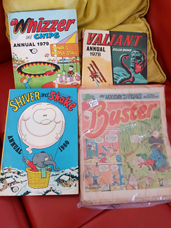 Collectable english comics