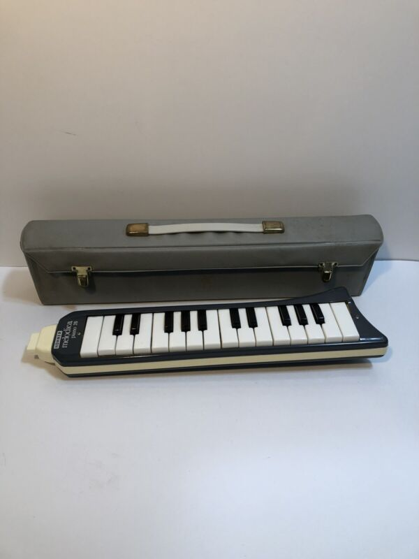 Vintage Honer Melodica Piano 26 Mouth Instrument Germany With Case