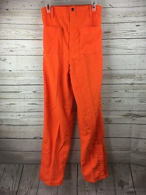 Wildland Firefighterutility Orange Nomex Pants Size 32x32 New