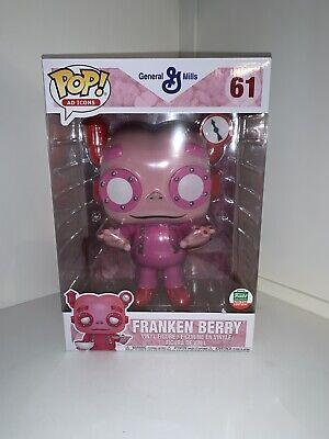 "Funko Pop Frankenberry 10"" Inch Ad Icon #61 Cyber Monday Shop Exclusive Ltd Ed"