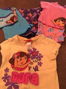 Dora size 2 jammies pj and  tshirt Woodside Adelaide Hills Preview