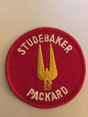 Vintage Studebaker packard patch, Studebaker Packard sew on patch for sale  York
