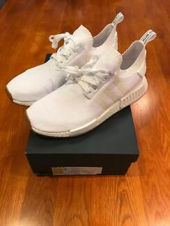 Adidas NMD Primeknit PK US11 UK10.5 White Gum Bull Creek Melville Area Preview