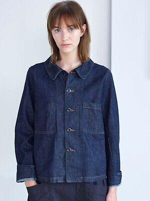 Margaret Howell X Canton Overalls Women's Worker Denim Twill Jacket Size XS
