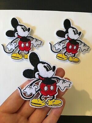1 piece Disney mickey mouse Cartoon embroidery patch SEW/IRON on   3