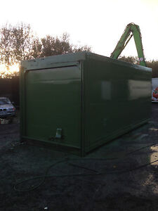 20 foot insulated storage container