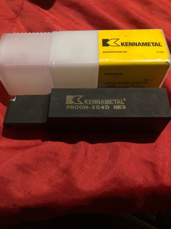 "KENNAMETAL PROON-240d NE3 1 1/4"" 1SQUARE SHANK TOOL HOLDER 11243919ne3"