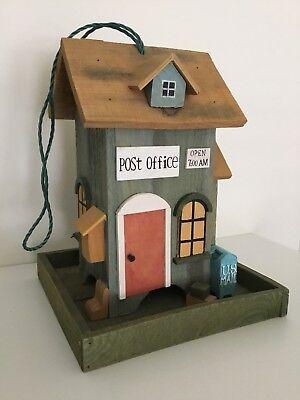 Post Office Bird Feeder - NEW