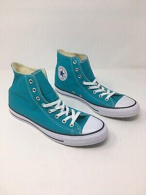 Aqua Chuck Taylors (Converse Chuck Taylor All*Star HIgh Top Mens 9.5 Aqua Teal Blue-green women)