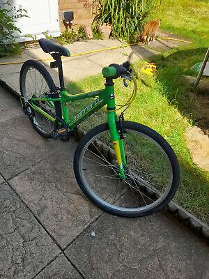 Used Boys Girls Carrera Abyss bike 24 inch Wheel Good condition