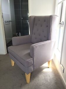 Heather Grey Regent Chair And Rocker by Bebe Care Catherine Field Camden Area Preview