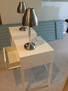 IKEA side tables and lamps Cambridge Kitchener Area image 2