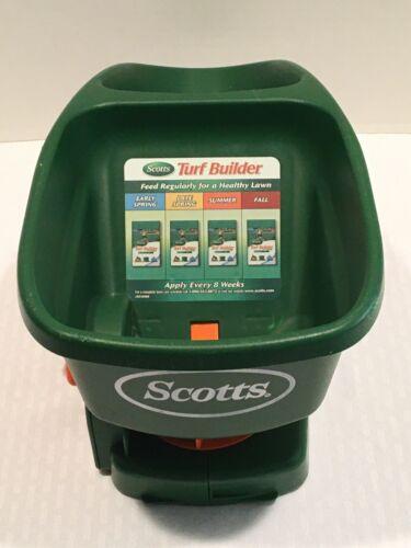 Scotts Handy Green Hand Held Spreader For Fertilizer/Grass Seed It