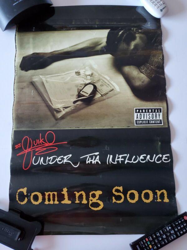 DJ QUIK Poster Under Tha Influence