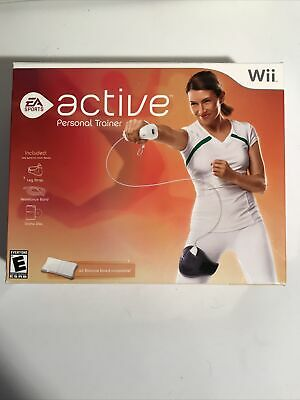 EA SPORTS Wii ACTIVE PERSONAL TRAINER - Complete New Open Box