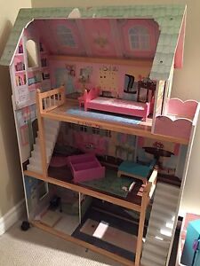 3ft tall wood Doll House