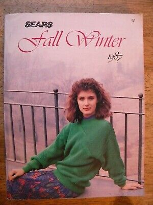Kids Clothes Catalogues (1987 SEARS CATALOG VINTAGE FALL WINTER CLOTHES CHERYL TIEGS CHILDREN ELETRONICS)