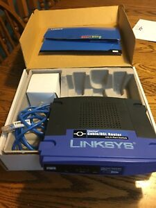 Linksys Etherfast Cable/DSL Router w/ 4-Port Switch